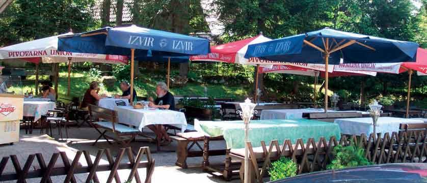 Kristal Hotel, Bohinj, Slovenia - terrace.jpg